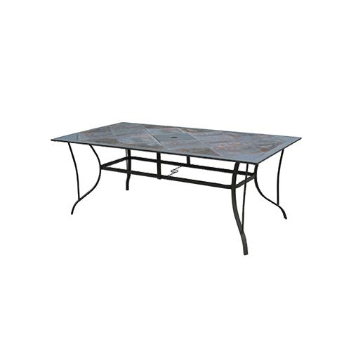COURTYARD CREATIONS TCS74PV FS Boston Rectangle Tile Table