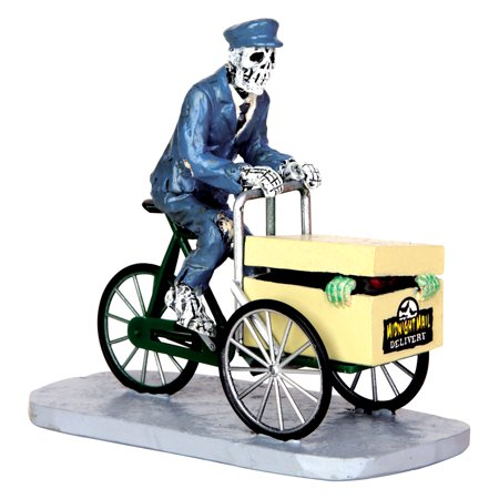 Lemax 42207 NOR DEAD OF NIGHT Spooky Town Figurine Halloween Decor Figure - Lemax Halloween Train