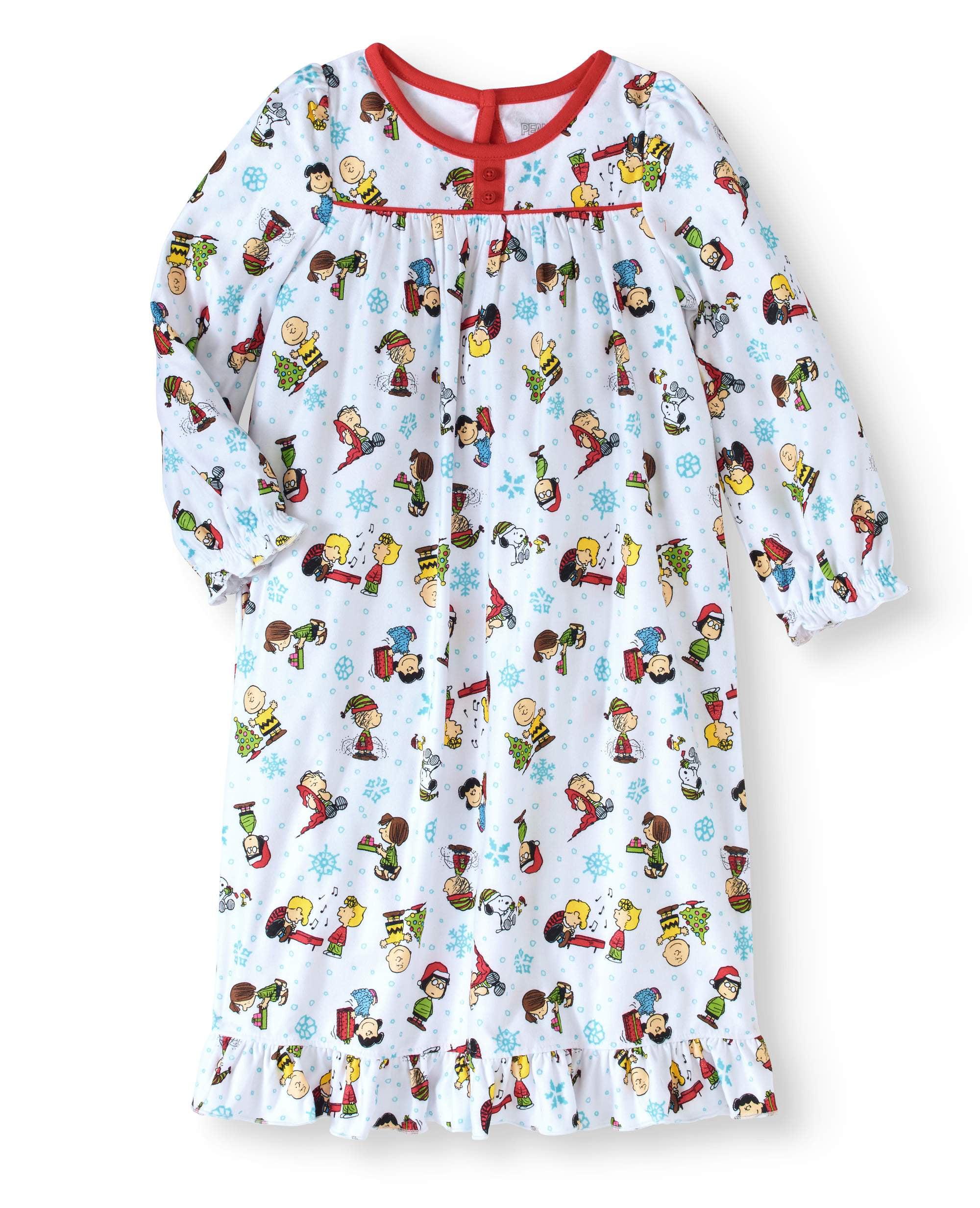Toddler Girls Granny Sleep Gown