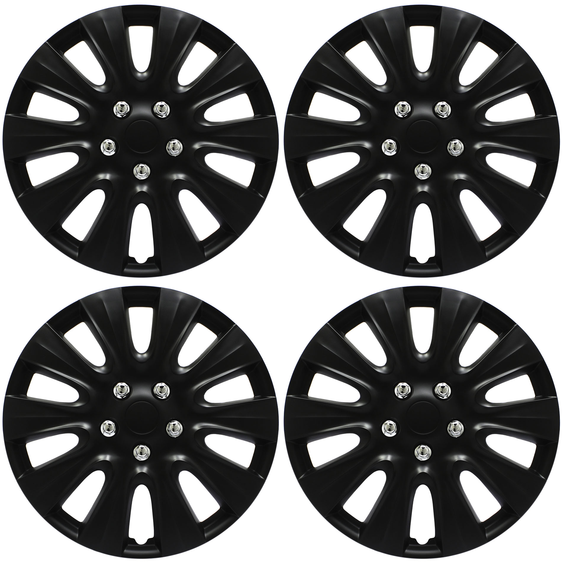 Cover Trend Set Of 4 Only Fits 17 Inch Wheels That Take Hubcaps
