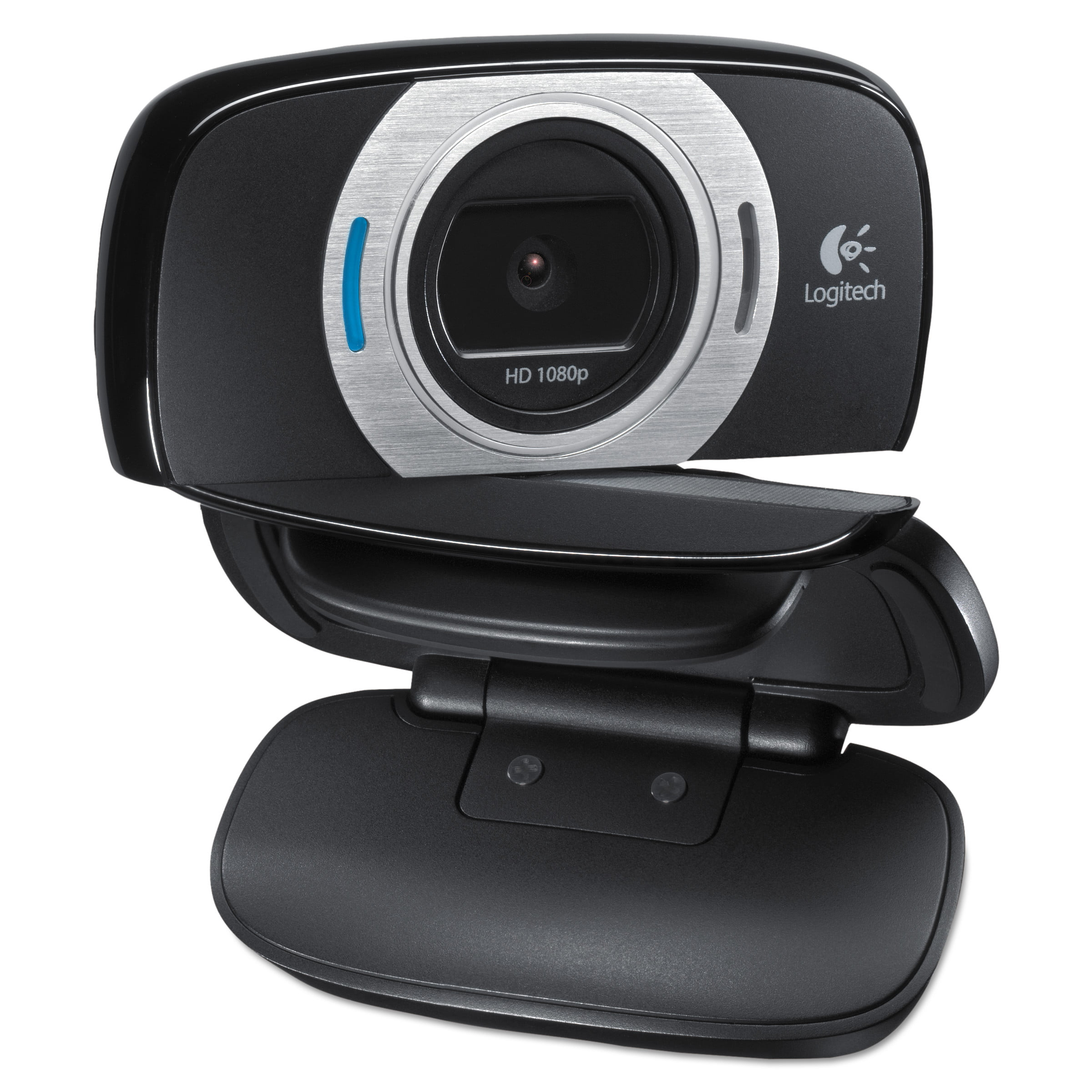 Logitech HD Laptop Webcam C615 with Fold-and-Go Design, 360-Degree Swivel, 1080p Camera by Logitech