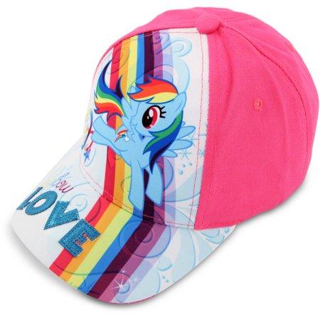 Hasbro - Toddler Girls My Little Pony Baseball Cap b9c3b3de49e