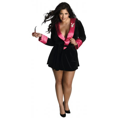 Playboy Sexy Girlfriend Adult Costume - Plus Size - Manziel Girlfriend Halloween