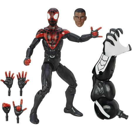 Marvel Spider Man 6  Legends Series Ultimate Spider Men  Miles Morales
