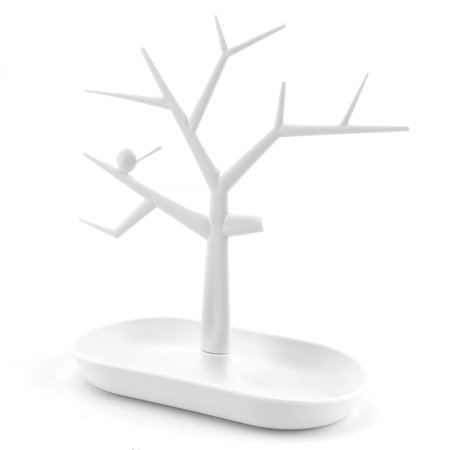 (Jewelry Necklace Ring Earring Tree Stand Display Organizer Holder Show Rack)