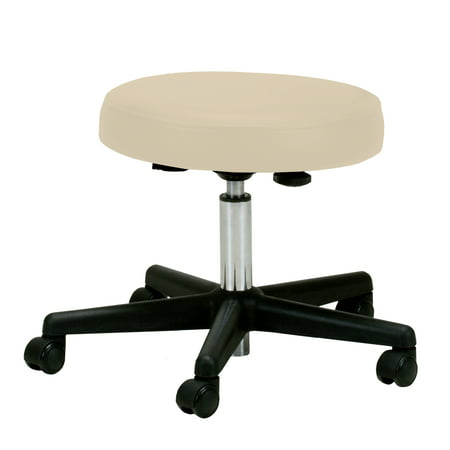 - EARTHLITE Pneumatic Massage Therapist Stool - Adjustable, Rolling Massage Stool, No Leaking (vs. Hydraulic), CFC-Free