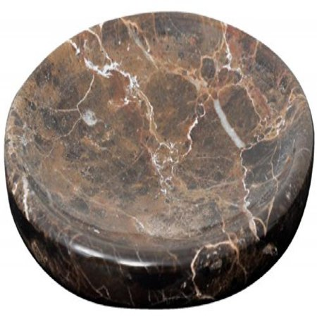Brown Marble Bar Soap Dish Holder For The Shower And Bathroom Sink