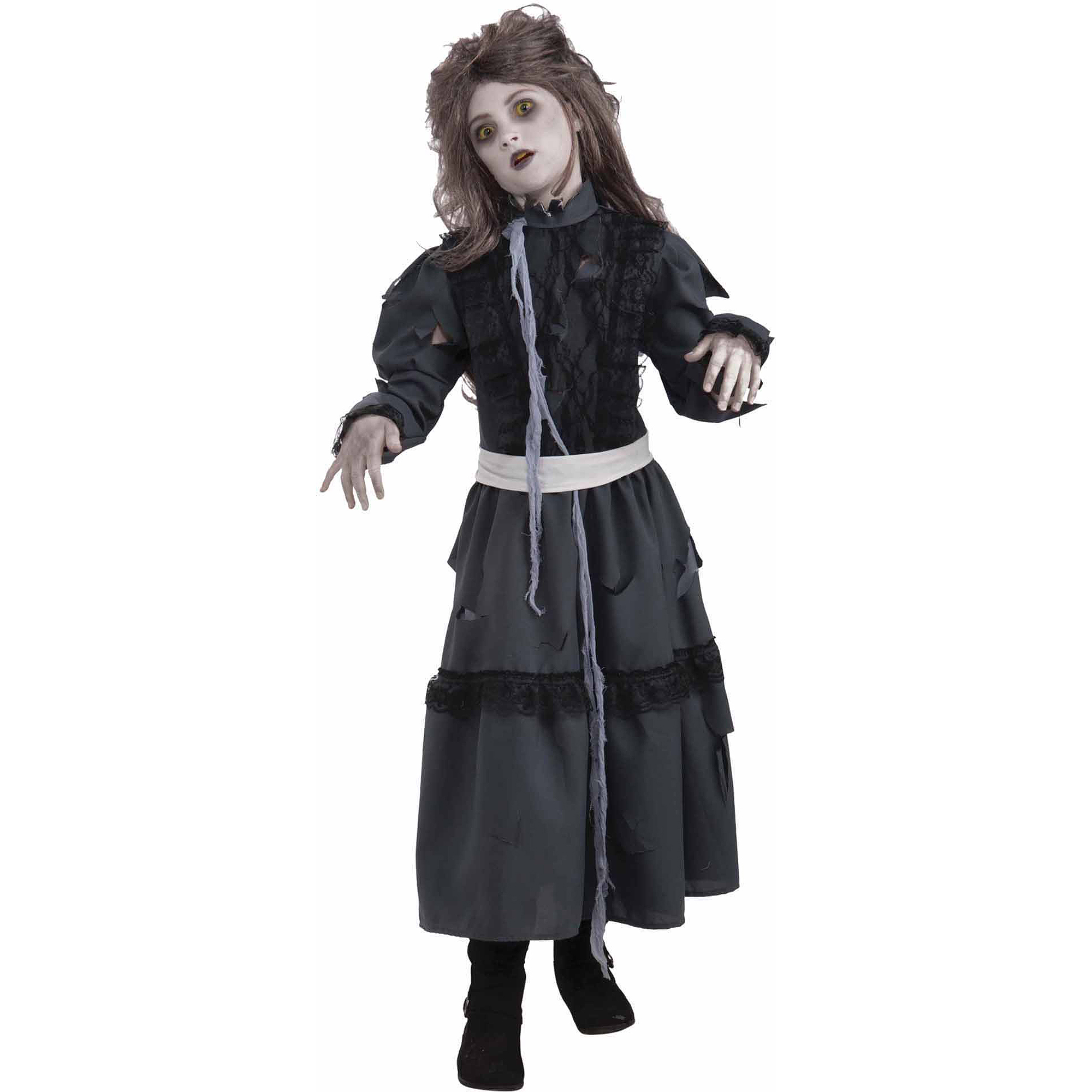 zombie girl child halloween costume walmartcom