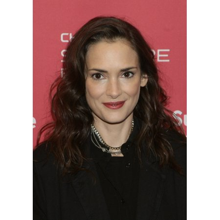 Winona Ryder At Arrivals For Experimenter Premiere At The 2015 Sundance Film Festival Eccles Center Park City Ut January 25 2015 Photo By James Atoaeverett Collection Photo Print