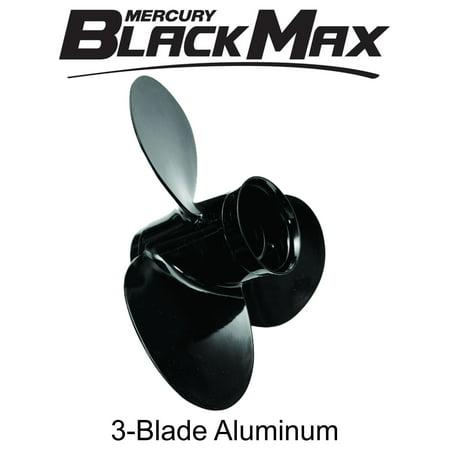 Mercury Marine Black Max 10 1 8 X 15 Pitch 3 Blade Aluminum Propeller Prop
