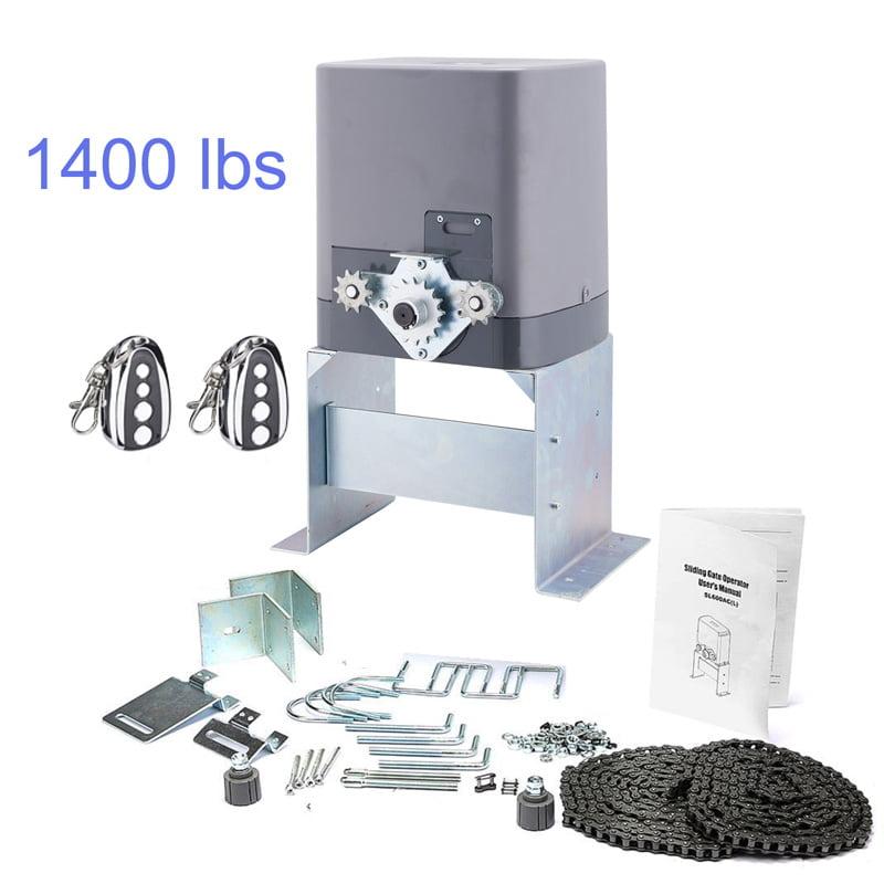 Automatic Sliding Gate Opener Hardware Driveway Security Door Operator Kit 600kg