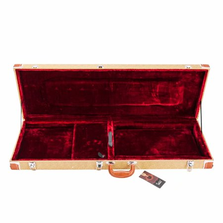 Glarry ST High Grade Electric Guitar Square Hard Case Flat Electric Guitar Storage Box