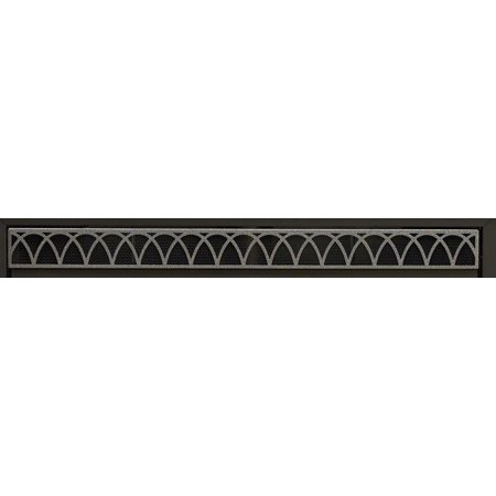 Arch Louvers DVG1AHP - Hammered - Louvered Arch