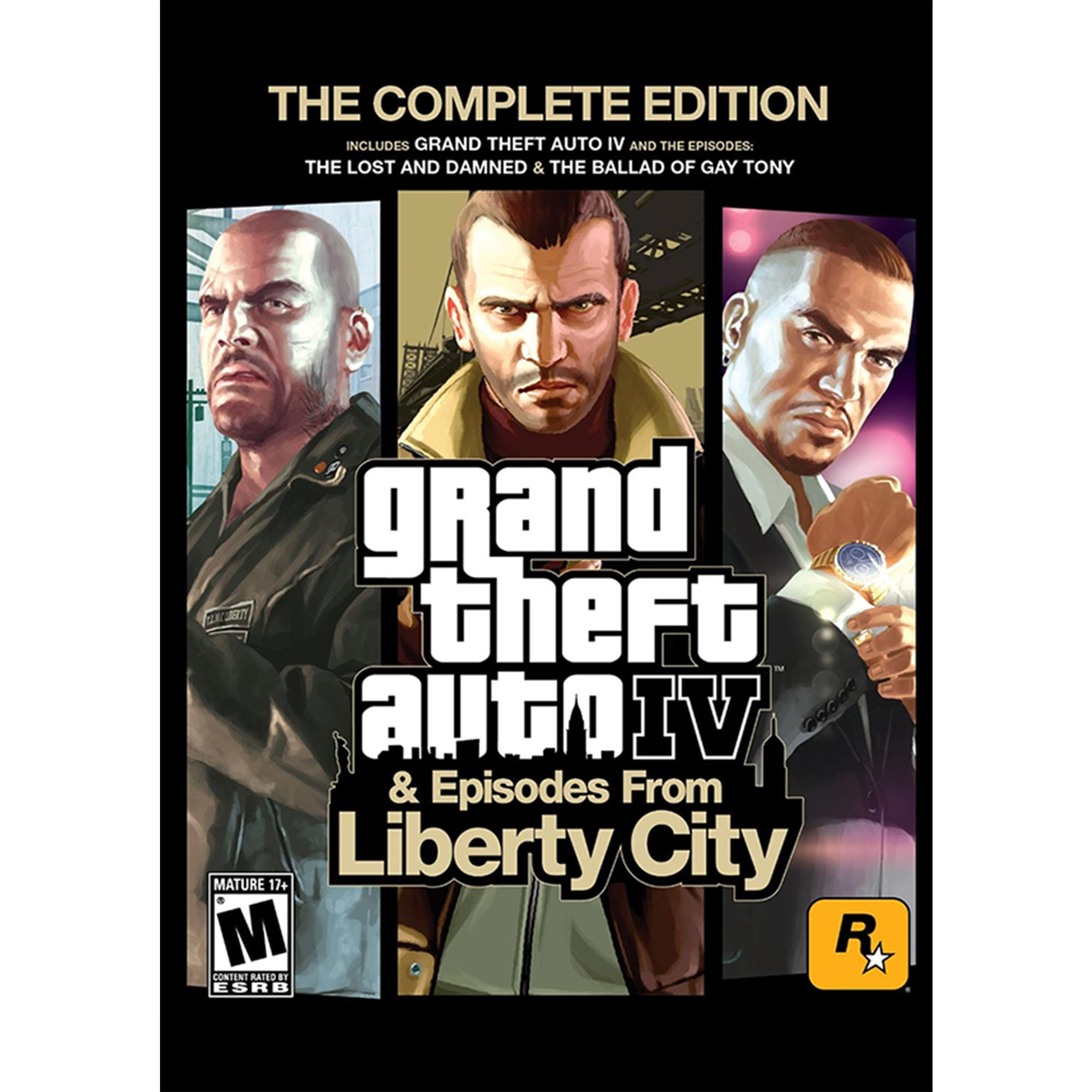 Grand Theft Auto IV: Complete Edition (PC)(Digital Download)