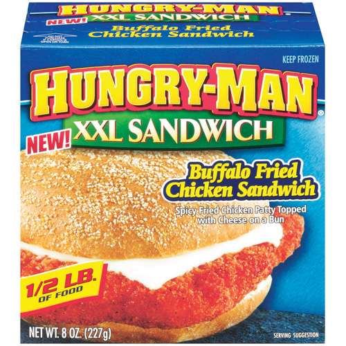 Hungry-man Hungry Man Xxl Buffalo Chicken Sandwich