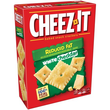 Merlot Cheddar - (2 Pack) Cheez-It Reduced Fat White Cheddar Baked Snack Crackers 11.5 oz. Box