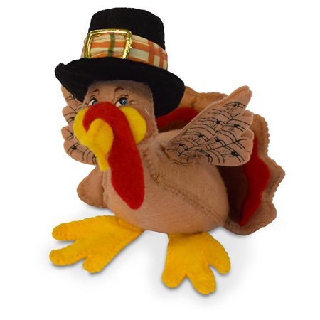 Annalee Dolls 5in 2018 Harvest Thanksgiving Turkey Plush New with Tags (Thanksgiving Toys)
