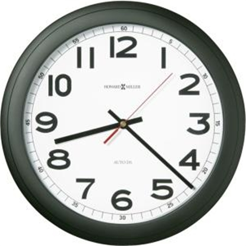 Howard Miller Norcross Auto Daylt-Savng Wall Clock 625320
