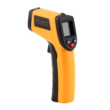 Infrared Thermometer -50~380°C 12:1 Handheld Non-contact Digital Infrared IR Thermometer Temperature Tester Pyrometer LCD Display with