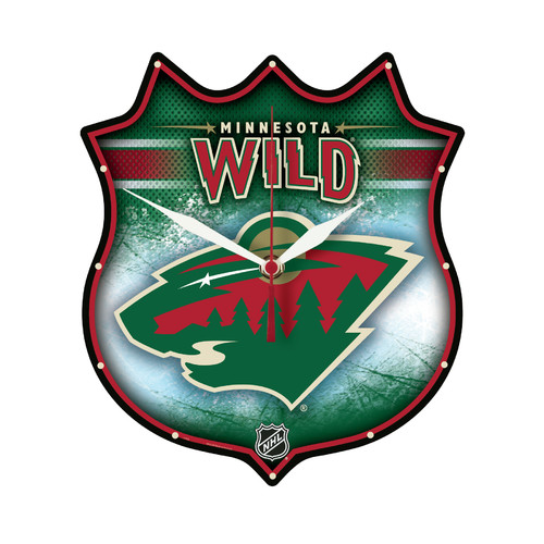Wincraft, Inc. NHL Minnesota Wild Plaque Wall Clock