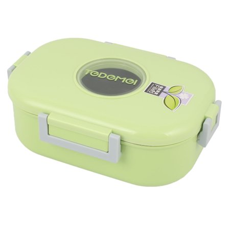 - Household Porridge Soup Noodles Bowl Container Lunch Box Green 980ml Capacity