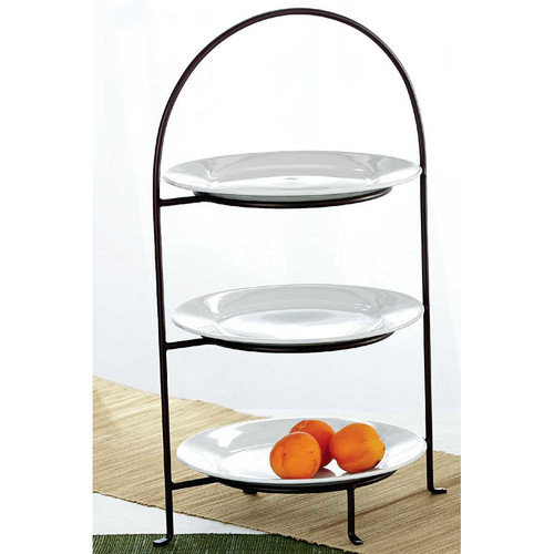 TAG Classic 3-Tiered Plate Stand  sc 1 st  Walmart.com & TAG Classic 3-Tiered Plate Stand - Walmart.com