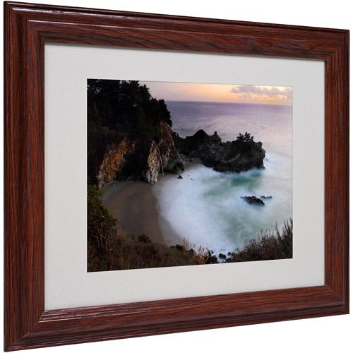"Trademark Fine Art ""Mc Way Falls"" Matted Framed Art by Pierre Leclerc"