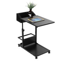 Yosoo Portable Multifunctional Removable Laptop Desk with Wheels Drawer Bed Sofa Books, Multifunctional Removable Laptop Desk, Laptop Desk with Wheels