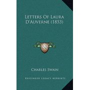 Letters of Laura D'Auverne (1853)