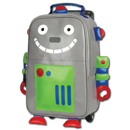 4a83bbf0686e Stephen Joseph Kids Rolling Backpack Robot - Walmart.com