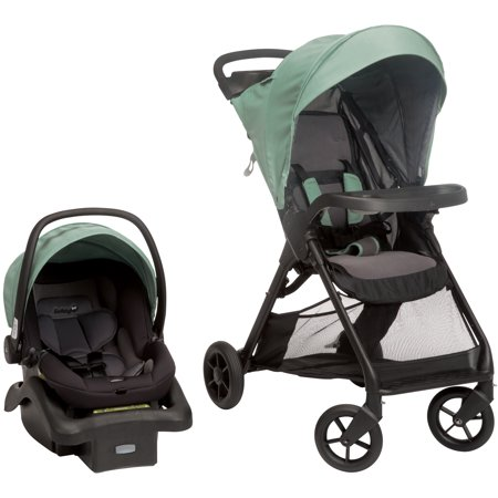 Safety 1st Smooth Ride Travel System, Moss Green (Safety 1st On The Go Fold Up Booster)