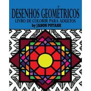 Desenhos Geom�tricos Livro de Colorir Para Adultos
