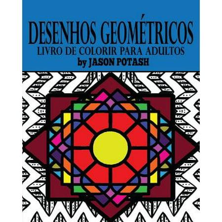 Desenhos Geométricos Livro de Colorir Para - Desenho Para Colorir Halloween