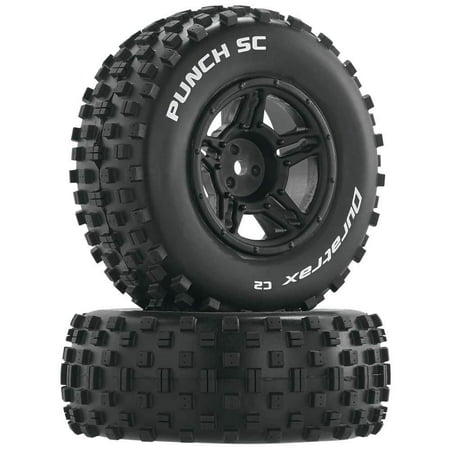 - Punch SC C2 Mounted Slash 4x4 Blitz F/R (2), FEATURES: Fits the front or rear of the Traxxas Slash, HPI Blitz and OFNA SCRT10 Widely spaced square tread.., By DuraTrax,USA