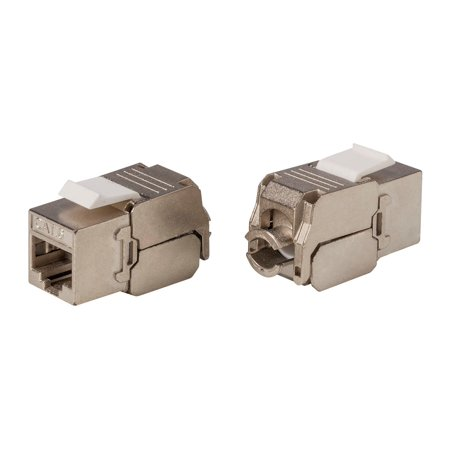 Monoprice Entegrade Series Cat6 RJ-45 FTP Toolless 180-Degree Slim Style Shielded Keystone Jack - image 2 of 2