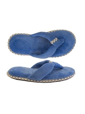 ef53b48dd Product Image Isotoner Women s Microterry Olivia Thong Slipper
