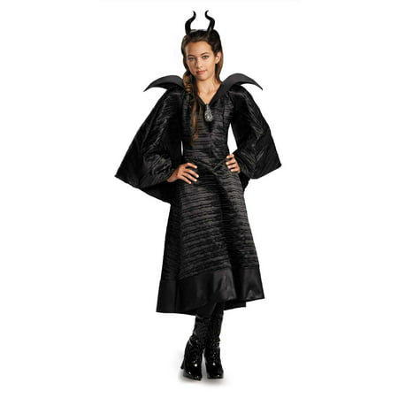 Maleficent Movie Costumes (Maleficent Christening Black Gown Child)