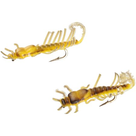 Creme Brown Trout Bugs Ultra Sharp Hooks 2 ct