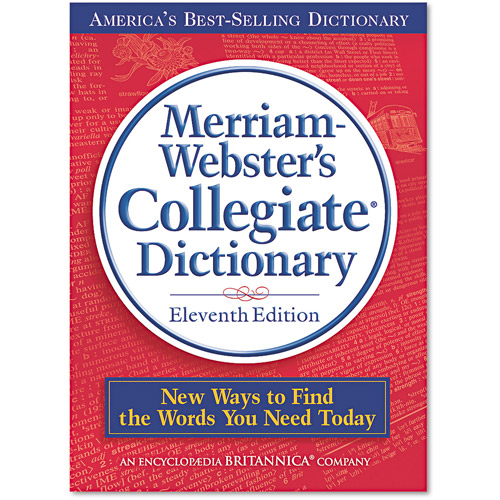 Merriam Webster Collegiate Dictionary, 11th Edition, Hardcover