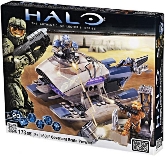 Halo Covenant Brute Prowler Set Mega Bloks 96869