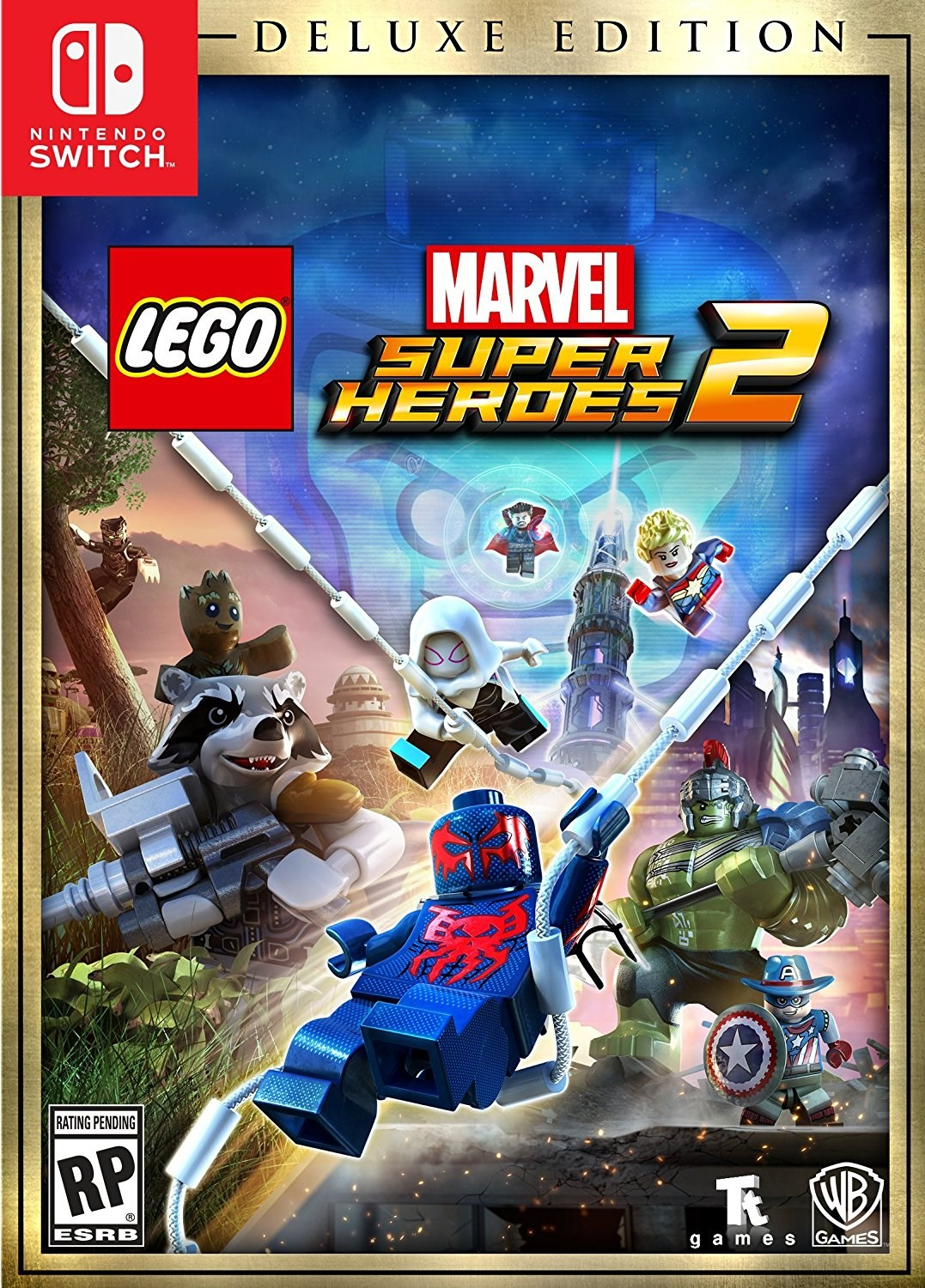 Lego Marvel Super Heroes 2 Deluxe Edition (Nintendo Switch) by WARNER HOME VIDEO GAMES