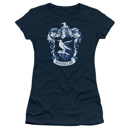Harry Potter Ravenclaw Crest Juniors Short Sleeve Shirt (Cute Teen Sonnenbrille)