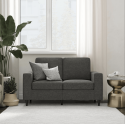 DHP Cooper Loveseat Sofa