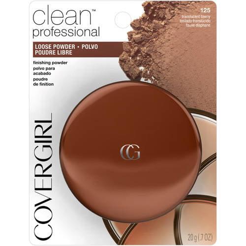 COVERGIRL Professional Translucent Face Powder, 125 Tawny, 0.7 oz