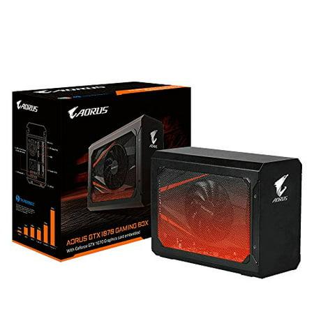 Gigabyte Video Card GV-N1070IXEB-8GD AORUS GTX 1070 8GB GDDR5 PCI Express HDMI/DisplayPort/DVI Retail ()