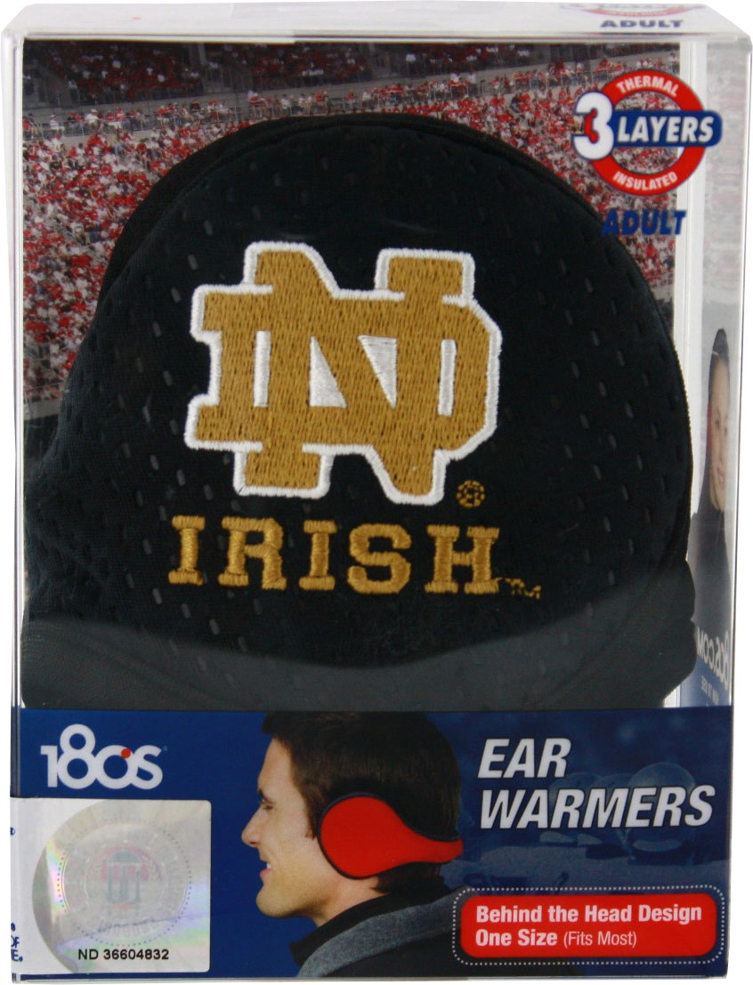 Notre Dame Fighting Irish Ear Warmers by KRYPTONITE