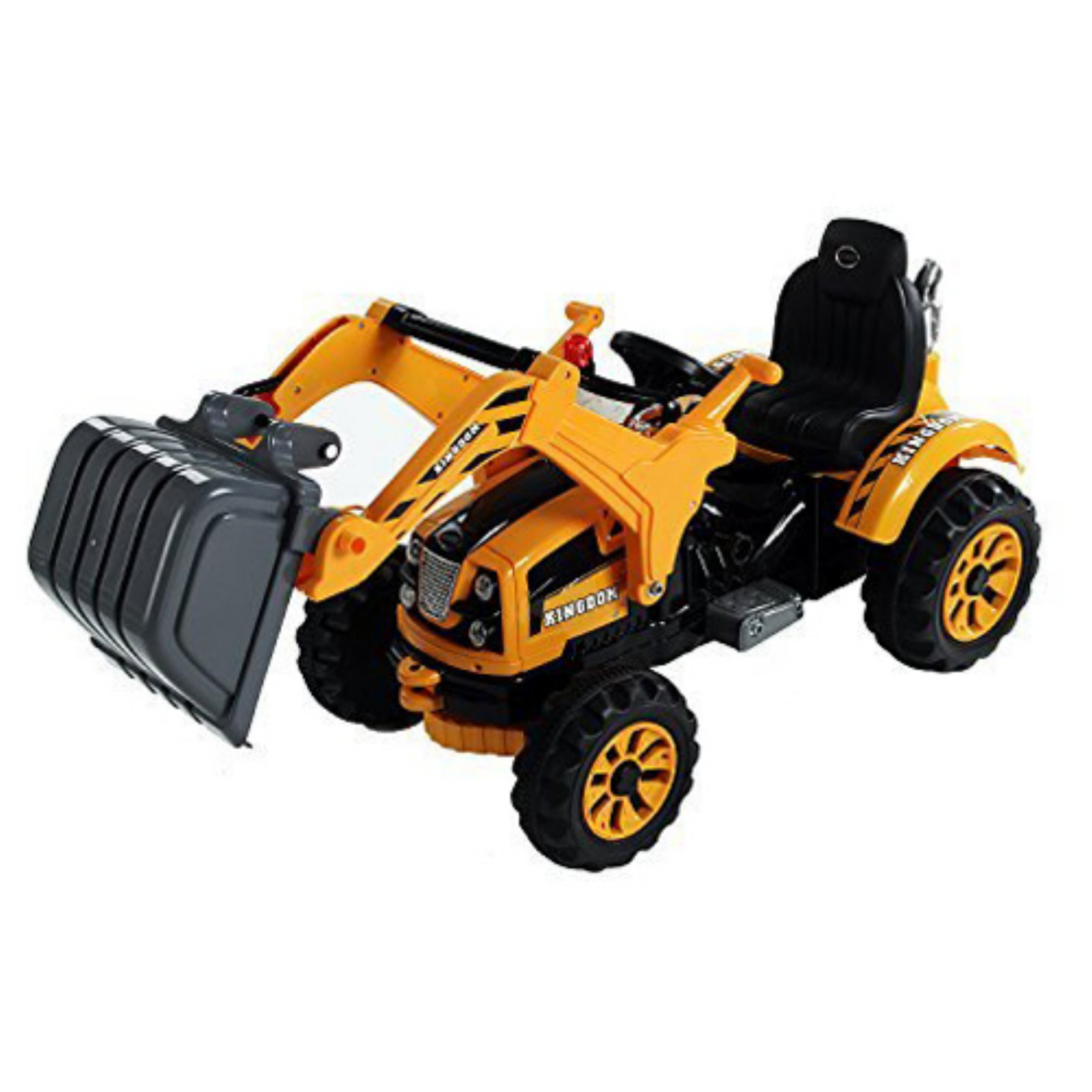 Aosom 6V Kids Ride On Toy Digger Excavator Construction Tractor by Aosom LLC