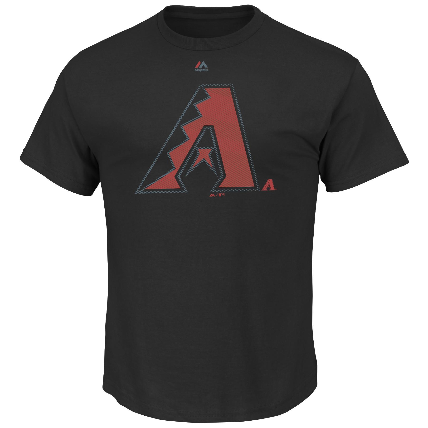 Arizona Diamondbacks Majestic Big & Tall Superior Play T-Shirt - Black