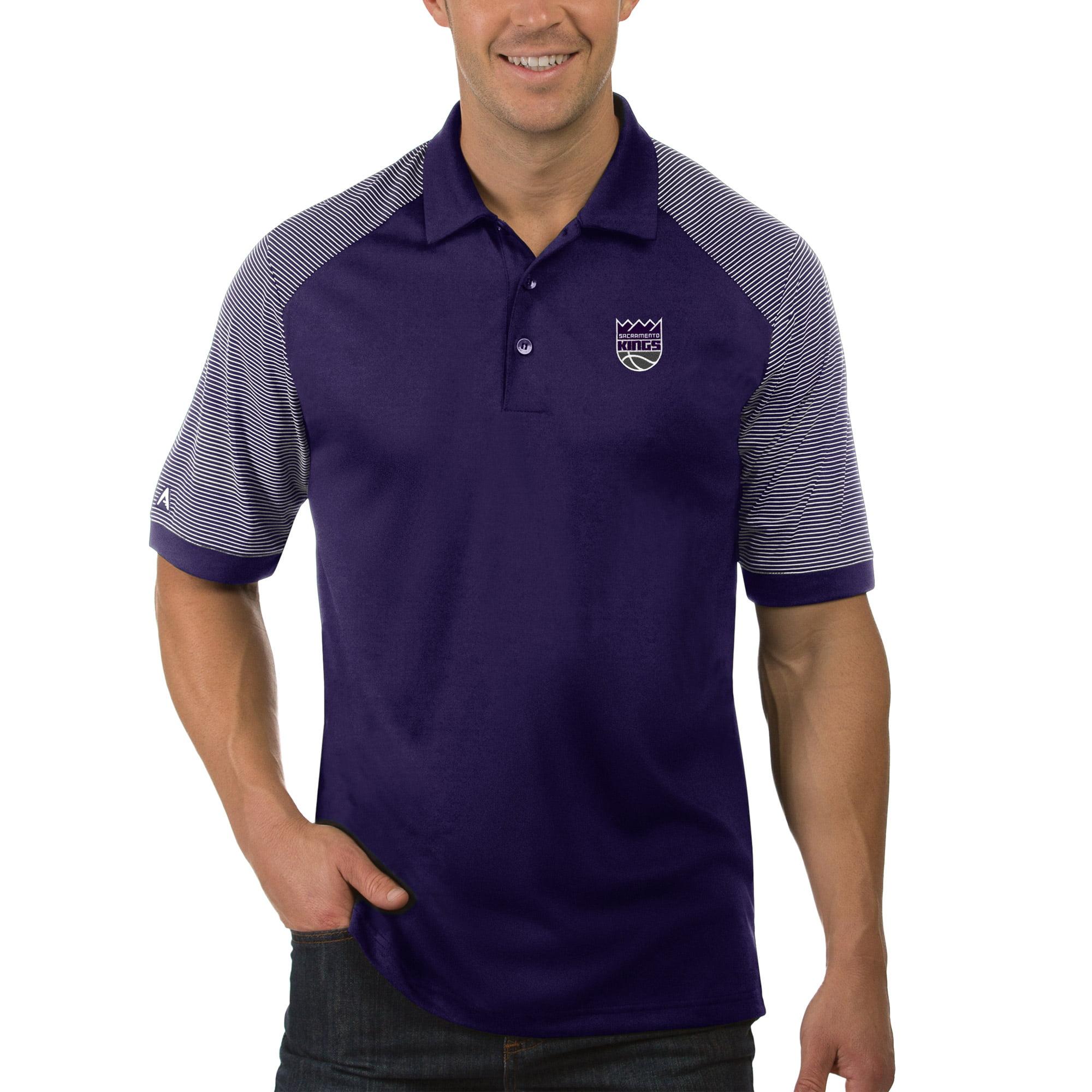 Sacramento Kings Antigua Engage Polo - Purple