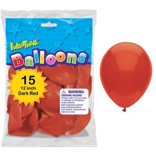 BALLOON RED 12""